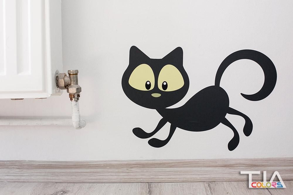 stiker pisica